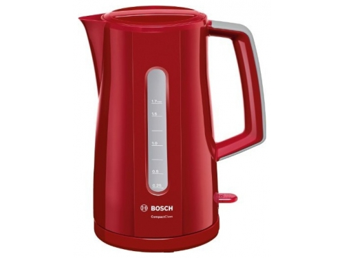 Чайник электрический Bosch TWK3A014 красный, вид 1