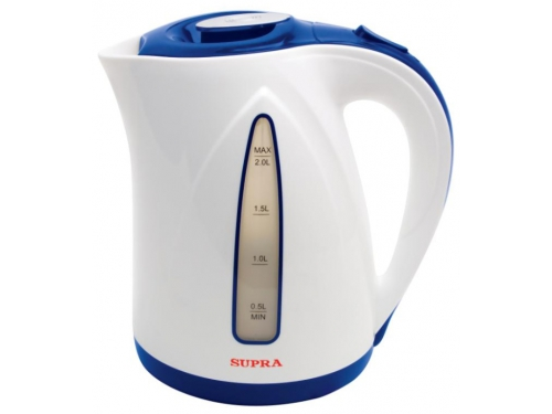 Чайник электрический Supra KES-2004 белый,синий, вид 1