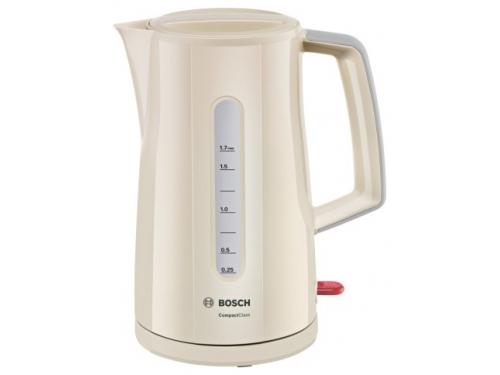 Чайник электрический Bosch TWK3A017 кремовый, вид 1