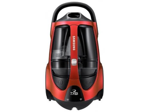 Пылесос Samsung SC885H, красный, вид 2