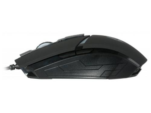 Мышка Oklick 795G GHOST (USB, 2400 dpi) чёрная, вид 5