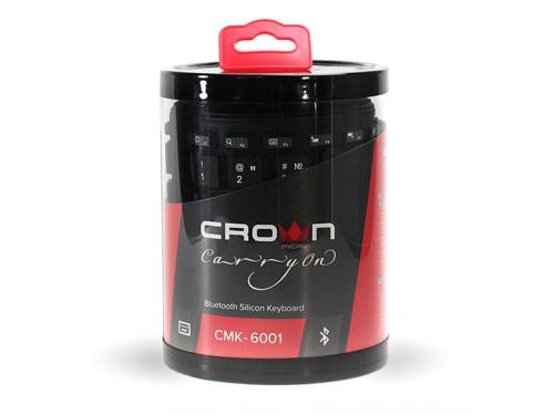 Клавиатура CROWN CMK-6001 (88 кнопок, силиконовая, Bluetooth, 2xAAA), вид 7