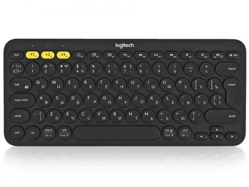 Клавиатура Logitech K380 Multi-Device (Bluetooth, для 3 устройств, 920-007584), вид 1
