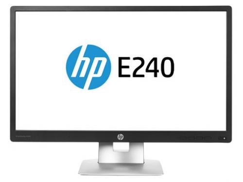 Монитор HP EliteDisplay E240,чёрный, вид 1