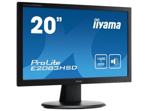Монитор Iiyama E2083HSD-B1 19.5