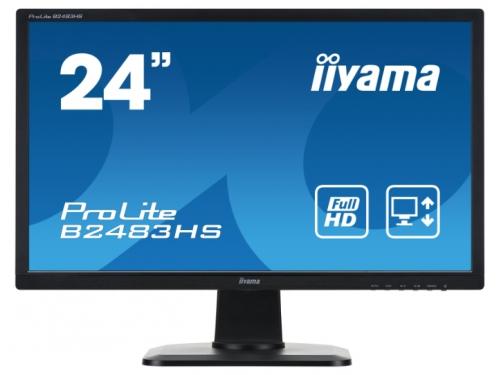 Монитор Iiyama ProLite B2483HS-1 черный, вид 2