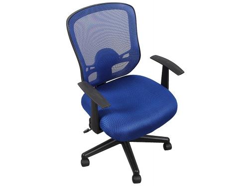 Компьютерное кресло COLLEGE HLC-0420-1C-1 (ткань, сетчатый акрил, синее), вид 1