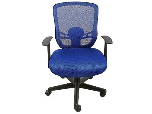 Компьютерное кресло COLLEGE HLC-0420-1C-1 (ткань, сетчатый акрил, синее), вид 3