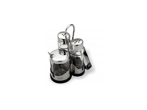 Посуда Набор для специй с салфетницей VITESS VS-1253, вид 1