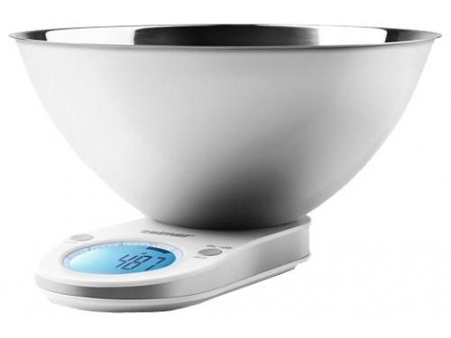 Кухонные весы Zelmer ZKS17500, белые, вид 1