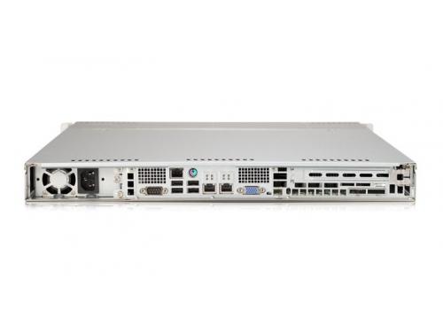 Серверная платформа SuperMicro 1U SYS-6017R-TDF 440W, вид 2