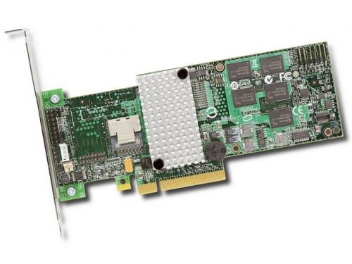 Контроллер LSI Logic MegaRAID SAS 9260-4i SGL, LSI00197, вид 1