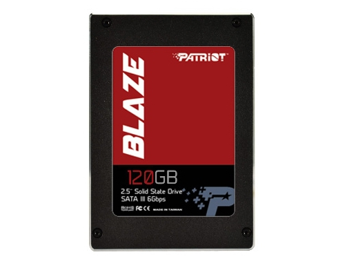 ������� ���� Patriot Memory PB120GS25SSDR, BLAZE (SSD 120 Gb, SATA3, 7 ��, MLC), ��� 1
