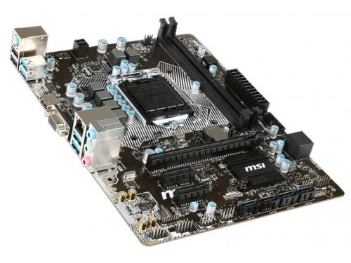 ����������� ����� MSI B150M PRO-VH Soc-1151 B150 DDR4 mATX SATA3  LAN-Gbt USB3.0 VGA/HDMI, ��� 1