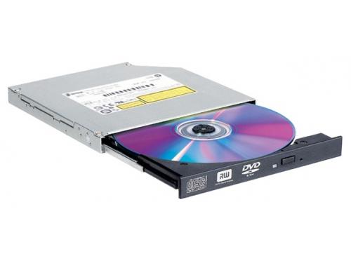 Оптический привод DVD-RW LG GTC0N slim черный, вид 1