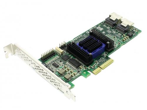 Контроллер Adaptec ASR-6805E, OEM (RAID-контроллер, SAS/SATA, на 8 дисков), вид 1