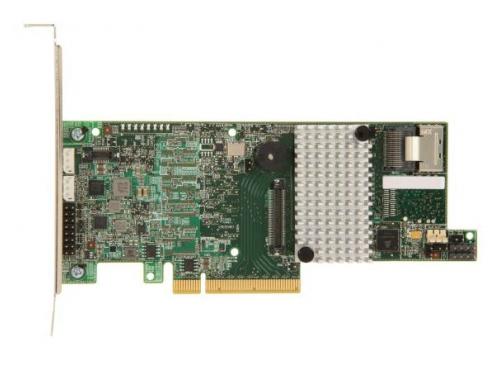 Контроллер LSI MegaRAID SAS 9271-4I SGL (LSI00328, RAID-контроллер, на 4+ диска), вид 1