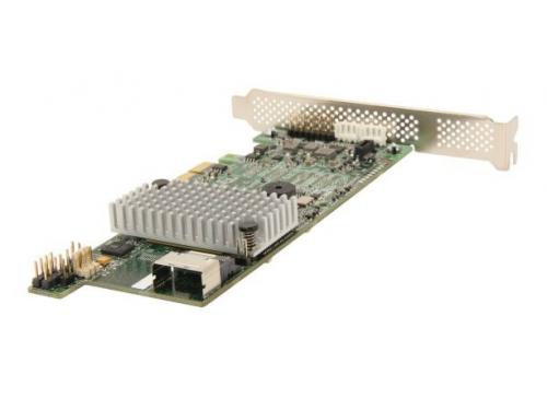 Контроллер LSI MegaRAID SAS 9271-4I SGL (LSI00328, RAID-контроллер, на 4+ диска), вид 2