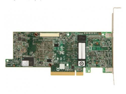Контроллер LSI MegaRAID SAS 9271-4I SGL (LSI00328, RAID-контроллер, на 4+ диска), вид 3