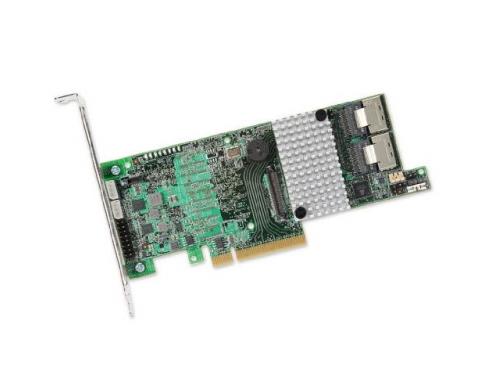 Контроллер LSI MegaRAID SAS 9271-8I SGL (LSI00330, RAID-контроллер, на 8+ дисков), вид 1