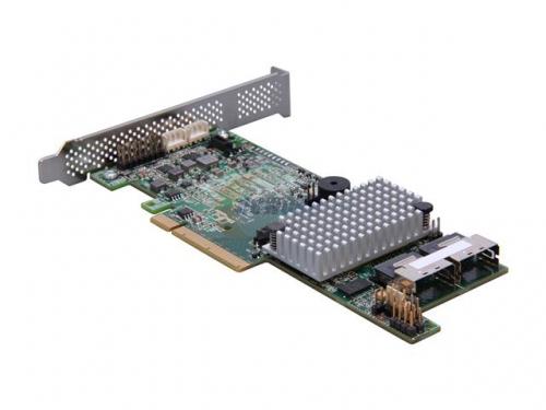 Контроллер LSI MegaRAID SAS 9271-8I SGL (LSI00330, RAID-контроллер, на 8+ дисков), вид 2