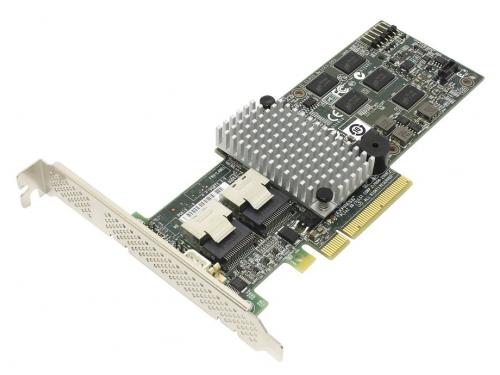 Контроллер LSI Logic MegaRAID 9260-8i (SGL, RAID-контроллер, для 8+ дисков), вид 1