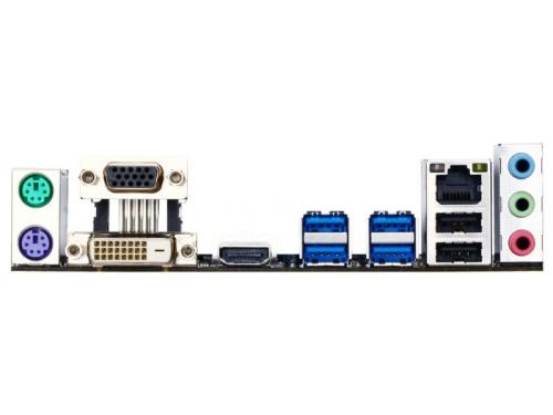 Материнская плата Gigabyte GA-H81M-S2H rev.1.0 (mATX, LGA1150, Intel H81, 2x DDR3), вид 4