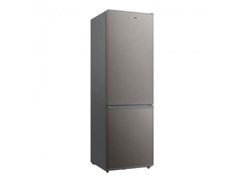 Холодильник Shivaki BMR-1881NFX, нержавеющая сталь, вид 1