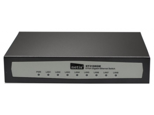 Коммутатор (switch) Netis ST3108GM (неуправляемый), вид 1