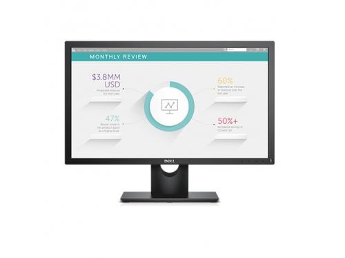 Монитор Dell E2318H (23'', Full HD, IPS), чёрный, вид 1