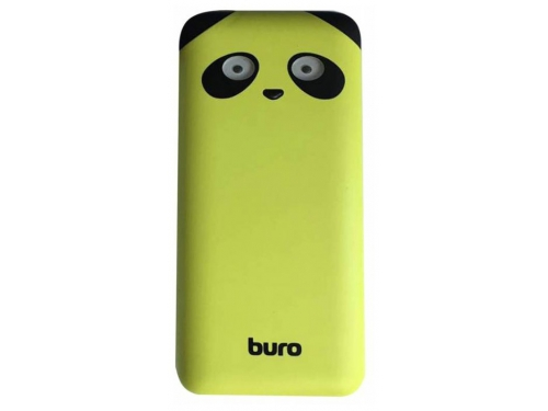 Аккумулятор универсальный Мобильный аккумулятор Buro RA-10000PD 10000mAh, лайм, вид 1