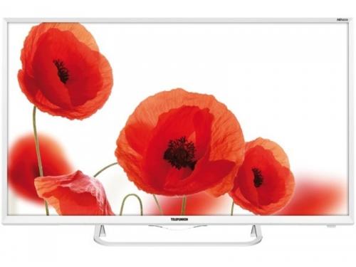 телевизор Telefunken TF-LED32S58T2S, белый, вид 1