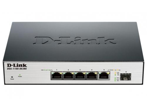 Коммутатор (switch) D-Link DGS-1100-06/ME/A1B, вид 1