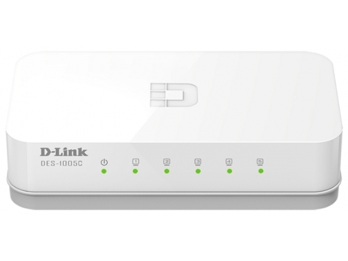 Коммутатор (switch) D-Link DES-1005C/A1A, вид 1