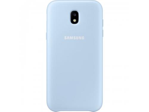 Чехол для смартфона Samsung для Samsung Galaxy J7 (2017) Dual Layer Cover, голубой, вид 1