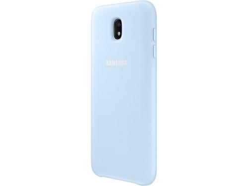 Чехол для смартфона Samsung для Samsung Galaxy J7 (2017) Dual Layer Cover, голубой, вид 2
