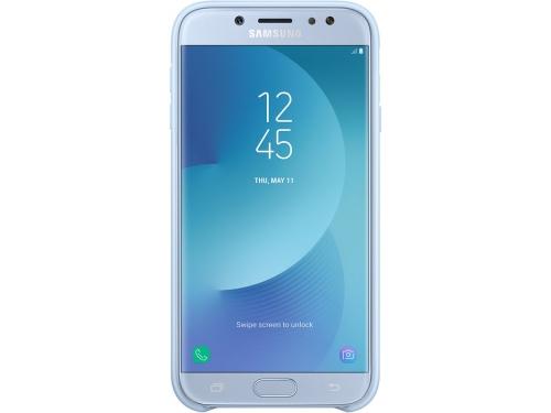 Чехол для смартфона Samsung для Samsung Galaxy J7 (2017) Dual Layer Cover, голубой, вид 3