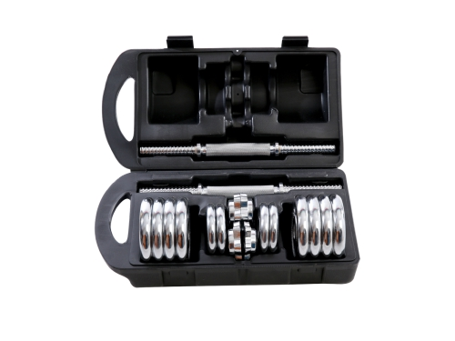Гантель Starfit BB-501 разборная, в чемодане (2 штx7,5 кг), вид 3