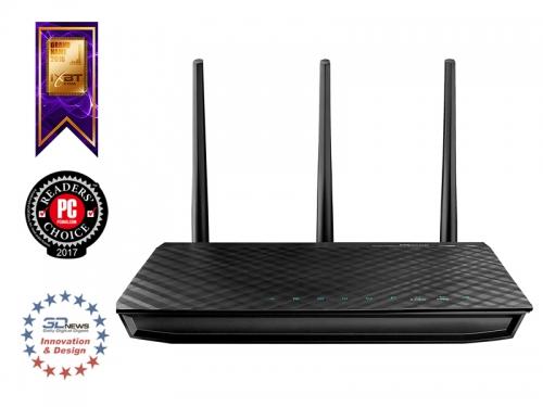 Роутер WiFi ASUS RT-N66U, вид 2