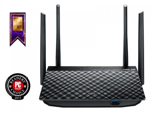 Роутер Wi-Fi Asus RT-AC58U (802.11ac), вид 3