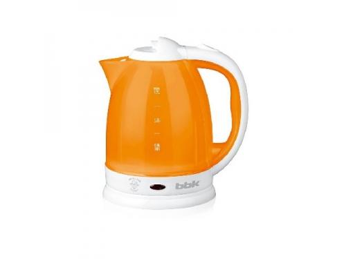 Чайник электрический Bbk EK1755P, white-orange, вид 1