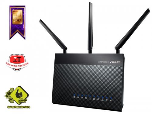 Роутер Wi-Fi ASUS RT-AC68U, вид 2