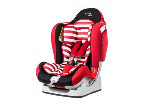 Автокресло детское Liko Baby LB 510, красно-черное, вид 1
