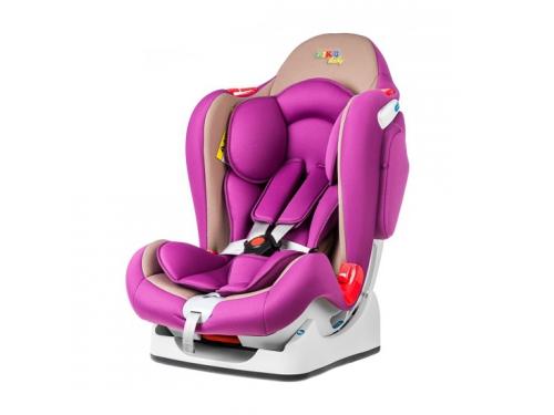 Автокресло Liko-Baby LB 510, фиолетово-бежевое 40029