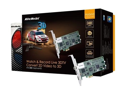 Tv-тюнер AVerMedia Technologies AVer3D CaptureHD, вид 3