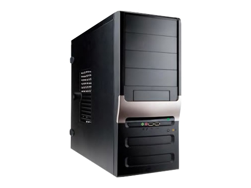 Корпус IN WIN EC025 450W Black (Midi-Tower), вид 1