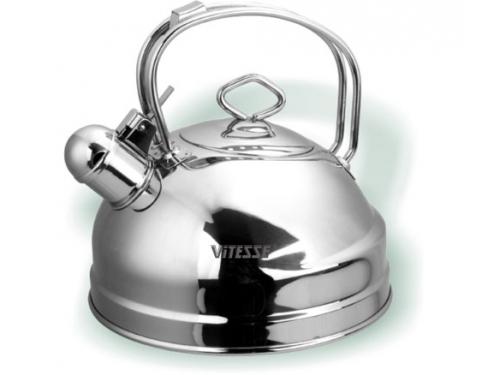 Чайник для плиты Vitesse VS-1106 ( 2,5 л) со свистком, вид 1