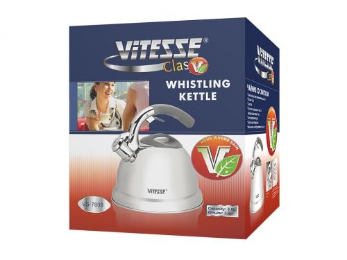 Чайник для плиты Vitesse VS-7809 (3,5 л) со свистком, вид 2