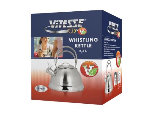 Чайник для плиты Vitesse VS-7800 (2,3 л) со свистком, вид 2