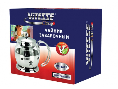 Чайник заварочный VITESSE VS-8317 (0,7 л), вид 2